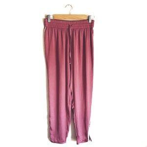 🔴3/$20 AEO Blush Pink Silky Pants
